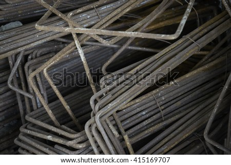 Metal rust for Construction - stock photo