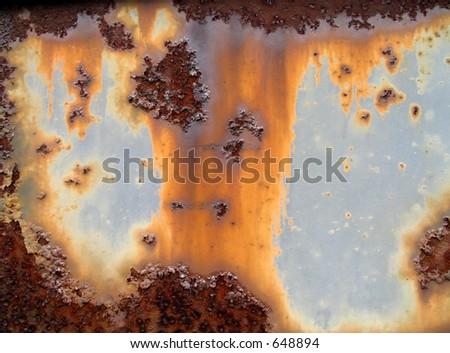 Metal rust texture - stock photo