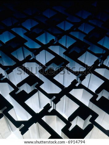 Metal Shapes - stock photo