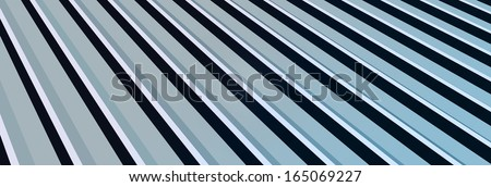 Metal Sheet Roofing - stock photo