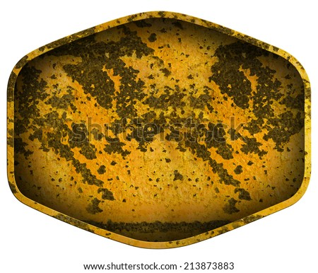 metal sheet rust plate background - stock photo