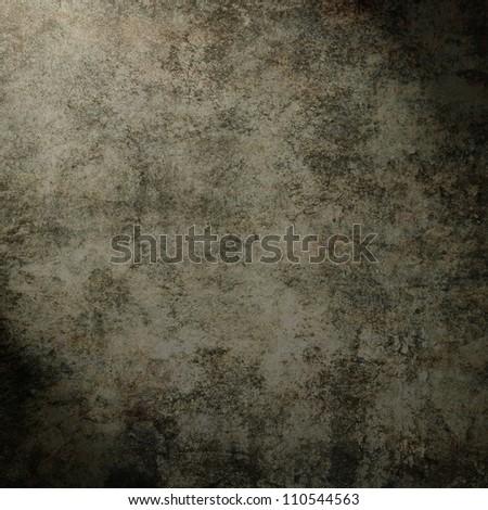 Metal table on wall - stock photo
