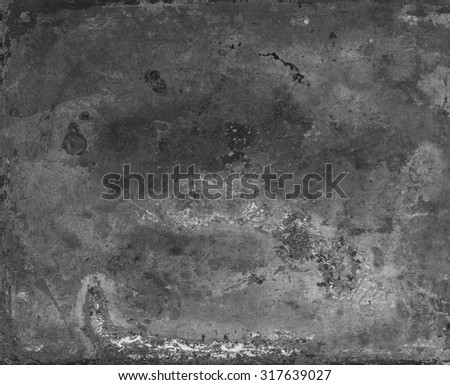 Metal texture. Abstract scratched industrial background - stock photo