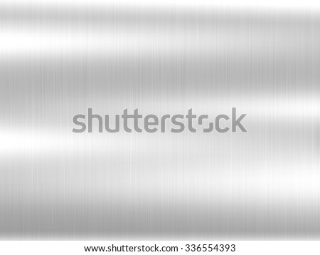 metal texture background aluminum brushed silver stainless - stock photo