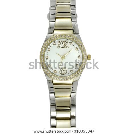 Metal Watch - stock photo