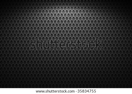 metal wire mesh, black and gray - stock photo
