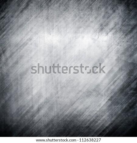 metallic plate - stock photo