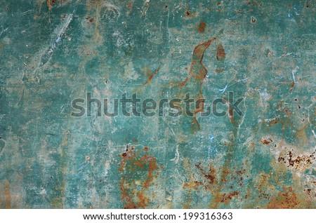 Metallic rust background - stock photo