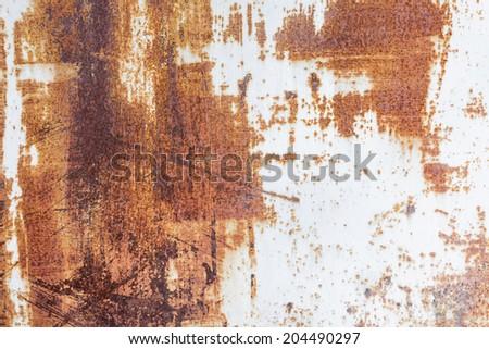 Metallic rusty texture - stock photo