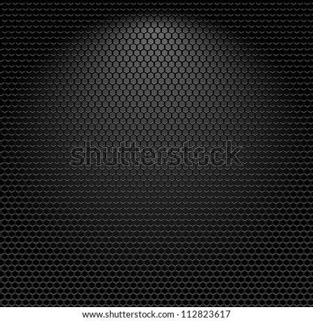 Metallic texture seamless pattern - stock photo