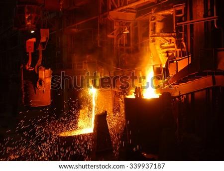 Metallurgy - stock photo