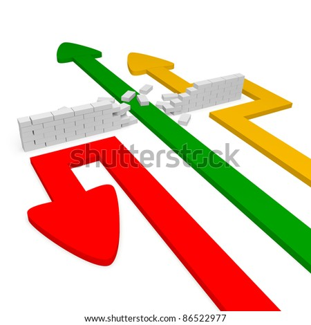 Method of approaching. - stock photo