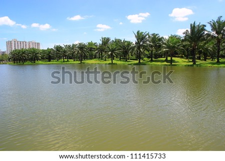 Metro park  in Thailand - stock photo