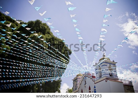 Mexican Church  - stock photo