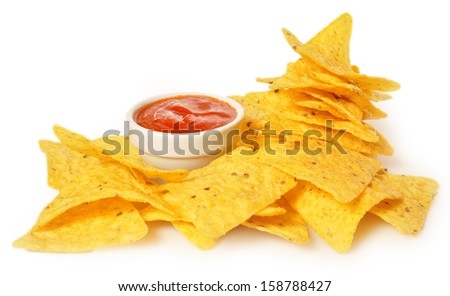 Mexican dipping - stock photo