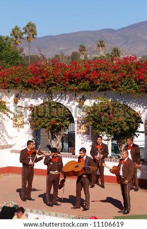 Mexican Mariachi band - stock photo