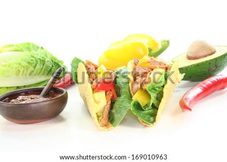 mexican Tacos - stock photo