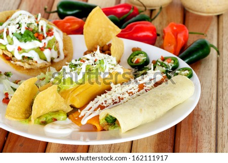 Mexican Traditional Food - stock photo