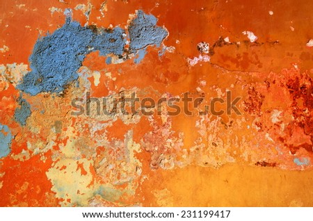 mexican wall - stock photo