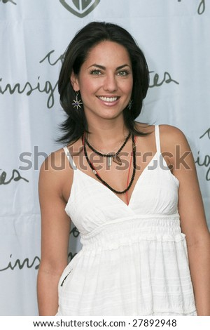 """MEXICO CITY, MEXICO- APRIL 1: Mexican Actress Barbara Mori attends the """"Cosas Insignificantes"""" photo call at Cinemark Reforma 222 April 1, 2009 in Mexico City. Andrea Martínez directed the movie. - stock photo"""
