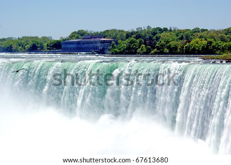 Miagara Falls - stock photo