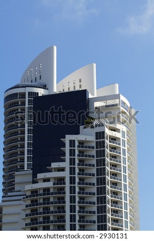 Miami Beach Highrise - stock photo