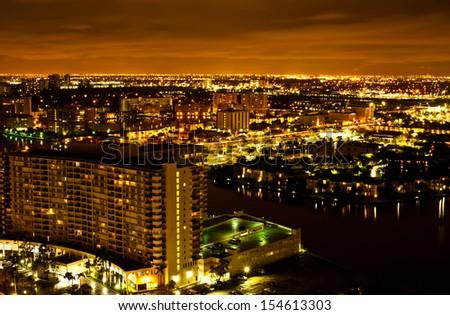 Miami suburb - stock photo