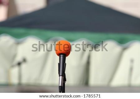 mic - stock photo