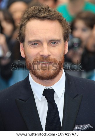 Michael Fassbender arriving for the World Premiere of Prometheus, Empire Cinema in Leicester Square. 31/05/2012 Picture by: Henry Harris / Featureflash - stock photo