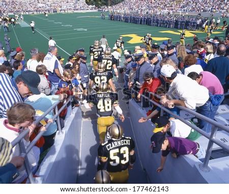Michael Stadium at West Point, Army v. Lafayette, New York - stock photo