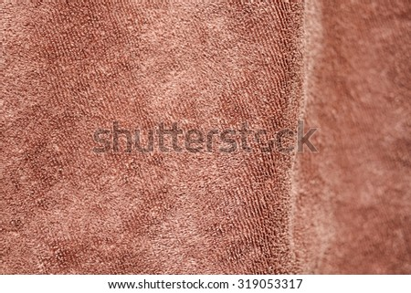 Microfiber fabric closed up - stock photo