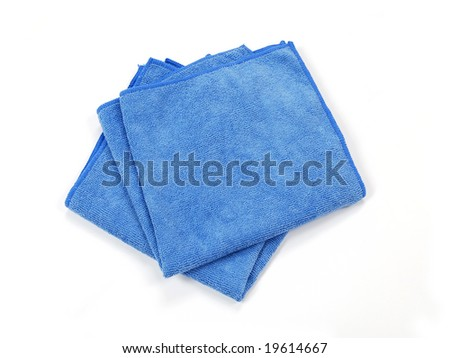 Microfiber Towels - stock photo