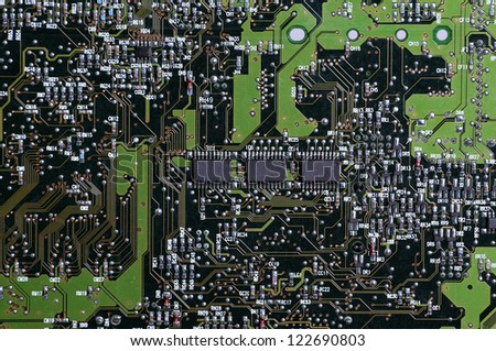 microprocessors - stock photo