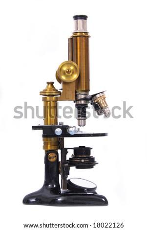 microscope - stock photo
