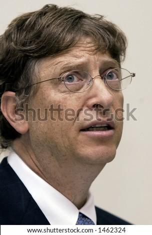 Microsoft chairman, Bill Gates - stock photo