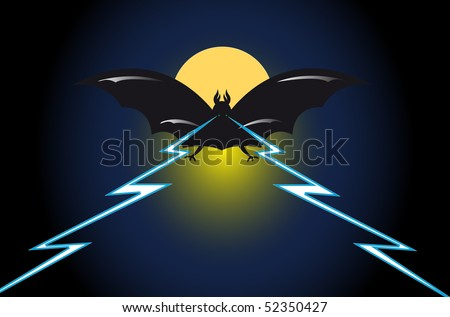 Midnight nightmare (you can find the same vector illustration in my portfolio)