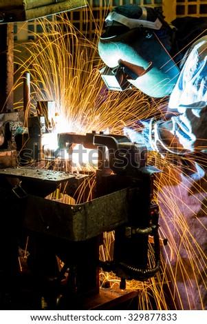 Mig Welding Sparks