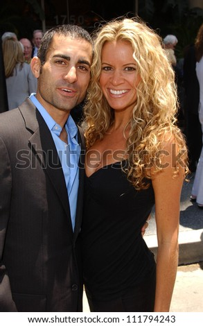 Mike Kasem and Amy Peterson at the Ceremony honoring Mike Curb with a star on the Hollywood Walk of Fame. Vine St, Hollywood, CA. 06-29-07 - stock photo