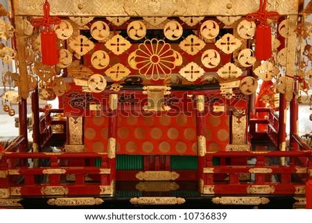Mikoshi, Japan - stock photo