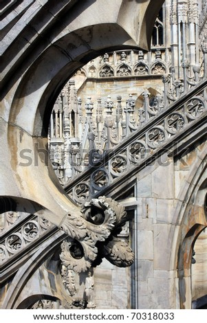 Milan cathedral,Lombardy, Italy - stock photo