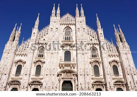 Milan Duomo, Italy - stock photo