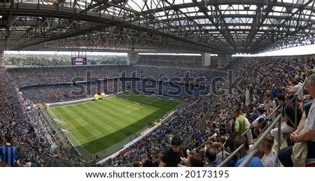 MILAN, MAY 11 : italian Championship game, Inter vs Siena, may 11, 2008 in Milan, Italy - stock photo