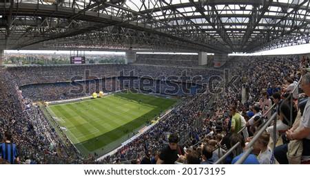 MILAN, MAY 11 : italian Championship game, Inter vs Siena, may 11, 2008 in Milan, Italy - stock photo