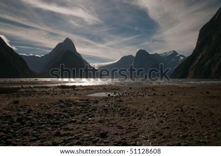 Milford Sound - stock photo