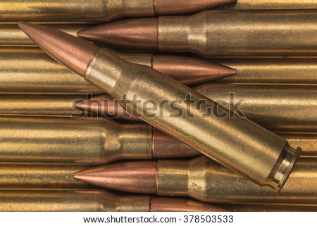 Military ammunition - stock photo