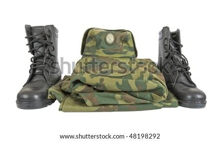 Military uniform - stock photo
