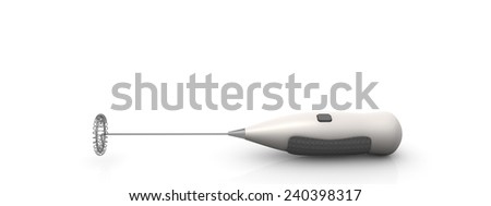 Milk frother - stock photo