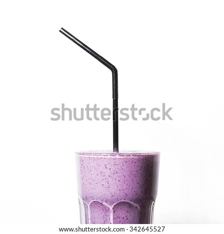 milk shake - stock photo