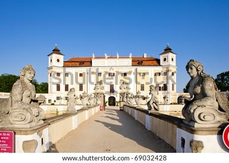 Milotice Castle, Czech Republic - stock photo