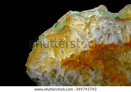 Mineral Agate - stock photo